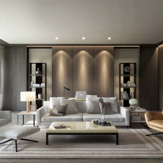 Gad Development, LLC Modern Interior